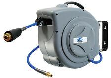 Automatischer Druckluftschlauch Aufroller + Schlauchführungsautomatik 15m (12613