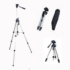"TRIPOD 65"" 1.66m HIGH QUALITY ~ BINOCULARS DIGITAL CAMERA PHOTOGRAPHY CAMCORDER"