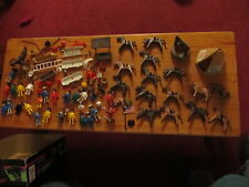 Playmobil lot of vintage 1974 toys horses indians cowboys more NICE