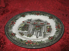 ROYAL STAFFORD CHRISTMAS HOME DINNER PLATES - 2 - NEW - MADE IN ENGLAND