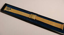 FS AMERIC 14mm mesh ladies vintage uhrenarmband watch band strap NEW NOS