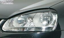 RDX Scheinwerferblenden VW Jetta 3 bzw 5 Böser Blick ABS Blenden Spoiler