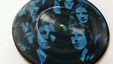 """Foreigner Blue Morning Blue Day UK 7"""" vinyl picture  single K11236 rare plays vg"""