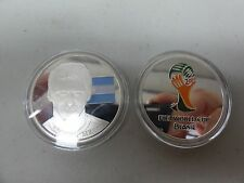 CHALLENGE COIN FREE CAPSULE SHIPPING LIONEL MESSI FIFA WORLD CUP BRAZIL 2014