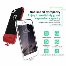 SanErqi Wireless Shakeproof Memory Expansion Phone Case for iPhone 6/6S/7 Red