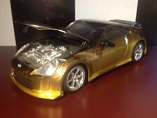 FAST AND THE FURIOUS RC RADIO CONTROL 350z NIKKO Rc DRIFT 1:16 Rare HTF