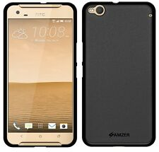 AMZER Exclusive Pudding Matte TPU Back Skin Case Cover For HTC One X9 - Black