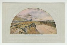 """[56609] OLD PC CENTRAL TRUST CO. of ILL. """"THE ROCK CUT in the DRAINAGE CANAL"""""""