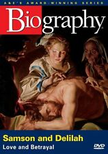 BIOGRAPHY - SAMSON AND DELILAH  (A&E DOCUMENTARY) NEW AND SEALED