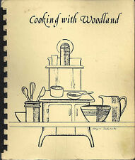 *ROCK HILL SC 1982 COOKING WITH WOODLAND COOK BOOK *UNITED METHODIST CHURCH
