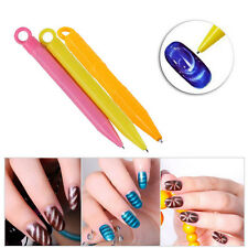 2pcs/Set Pen Magnetic Stick For Cat Eye Gel Polish Nail Art Manicure Tools DIY