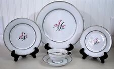Noritake Crest Mid Century 1953 1964 China set for One Five Piece Place setting