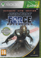 Star Wars The Force Unleashed Ultimate Sith Edition Xbox 360 Brand New Sealed