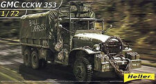 HELLER GMC CCKW 353 TRUCK NEW MINT & SEALED 1/72