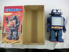 Horikawa TV Robot Tin Toy Japan Vintage Space Toy japanese box yonezawa