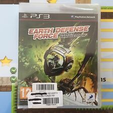EARTH DEFENCE FORCE INSECT ARMAGEDDON SONY PLAYSTATION 3 PS3 GAME - NEW & SEALED