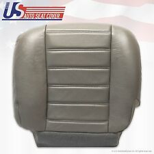 2003 2004 2005 2006 2007 Hummer H2 Driver Side Bottom Leather Seat Cover Gray