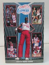 1988-89 SAN DIEGO CLIPPERS NBA BASKETBALL Press book media guide