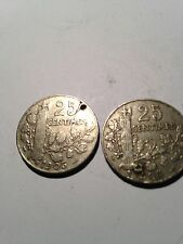Rare 2x French Centimes Coins both dated 1905- see all pictures!