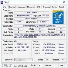 Intel Xeon E5-2650 v4 ES 2.2GHz LGA2011-3 12C Compatible with X99 i7-6850K 6900K