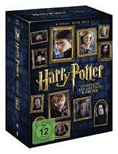 Harry Potter Komplettbox Teil 1 bis 7.2 Neu in Folie 8xDvD,s+Hüllen+Cover+Box