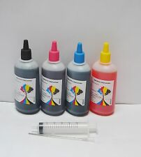 Bulk Refill Ink for Epson HP Canon Brother Lexmark Inkjet Printer, 4 colors NY