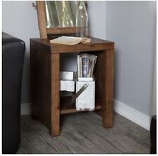 Rustic End Table Small Accent Reclaimed Barn Wood Nightstand Farmhouse Furniture