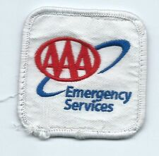 AAA emergency services company/employee patch 2-3/8 X 2-3/8 #360