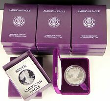 1987-S Silver Eagle Proof, One Troy Ounce .999 Fine Silver