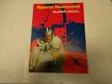 1971 Sports Illustrated Super Bowl Cover January 18th.