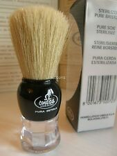 Omega Shaving Brush #10072 - Two Color Combinations Pure Bristel.