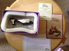 Miniature Shoes.  Raine's Just The Right Shoe. Pearl Mule.  In box w/ papers