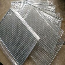 2pcs BBQ Net Barbecue Grills Wire Mesh Stainless Outdoor Picnic Cooking 40x 25cm