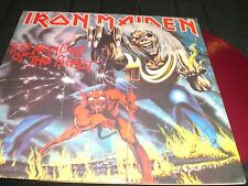 IRON MAIDEN  The Number of the Beast  LP unplayed color