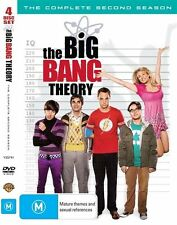 THE BIG BANG THEORY SEASON 2 4 DISC DVD