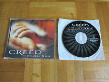 CREED With Arms Wide Open 2000 EUROPEAN CD single