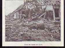 1916  --  DANS LES RUINES DE CURLU  K950