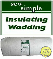 "1 Metre - Sew Simple Heat Resistant Insulating Wadding - 1 Metre x  22"" Wide"