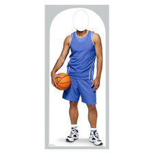 BASKETBALL PLAYER Lifesize Stand-In CARDBOARD CUTOUT Standin Standup Standee F/S