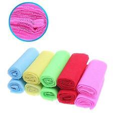 Bathroom Bath Shower Body Cleaning Wash Exfoliating Scrubbing Towel Nylon Cloth