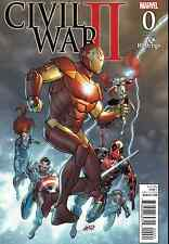 CIVIL WAR II 0 RARE ROB LIEFELD HASTINGS VARIANT CONNECTS TO 1 NM