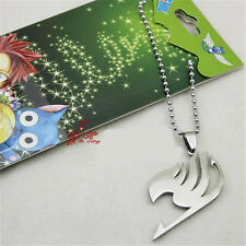 Donne Uomini Cosplay Anime FAIRY TAIL Natsu Dragneel Guild Collana Con Ciondolo