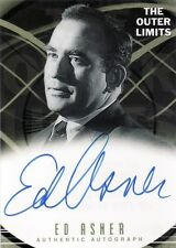 Outer Limits Premiere Ed Asner as Detective Sgt. Thomas Siroleo A8 Auto Card