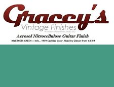 -Inverness Green- Gracey's Vintage Finishes Nitrocellulose Guitar Lacquer.