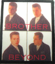 BROTHER BEYOND Vintage 80`s/90`s Printed Sew On Patch