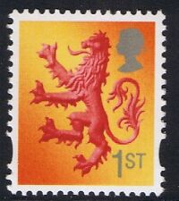 GB QEII Scotland SG S110 1st Class Scottish Lion Regional Definitive