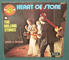 Rolling Stones Heart Of Stone 45 W/ Sleeve Decca 86.127 France NM