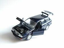 Audi 80 B4 Avant Kombi break in blau bleu azzurro blue metallic, Schabak 1:43!