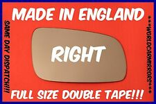 VW GOLF 4 MK4 1996-2004 WING MIRROR GLASS RIGHT HAND SIDE