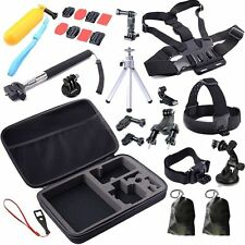 30in1 Pole Head Chest Mount Strap For GoPro Hero Accessories Set Kit for 3+/4/5
